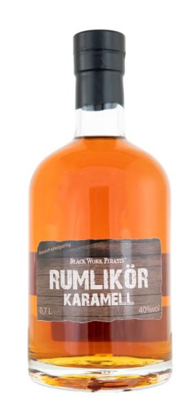 Black Work Pirates Karamell Rumlikör - 0,7L 40% vol