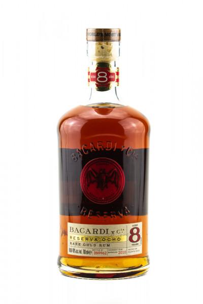 Bacardi Reserva 8 Jahre Rum - 0,7L 40% vol