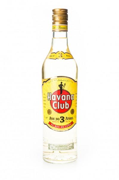 Havana Club Anejo 3 Jahre Rum - 0,7L 40% vol
