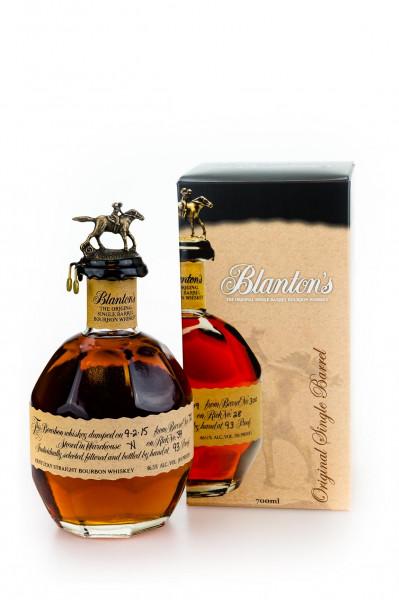 Blantons Single Barrel Kentucky Straight Bourbon Whiskey - 0,7L 46,5% vol