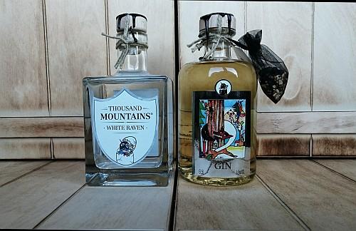White Raven und Sauerländer Gin