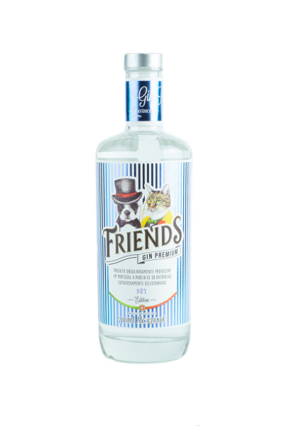 Friends Touriga Dry Gin - 0,7L 43% vol