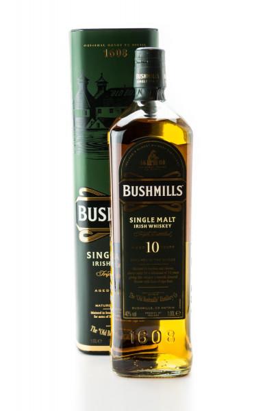 Bushmills 10 Jahre Single Malt Irish Whiskey - 1 Liter 40% vol