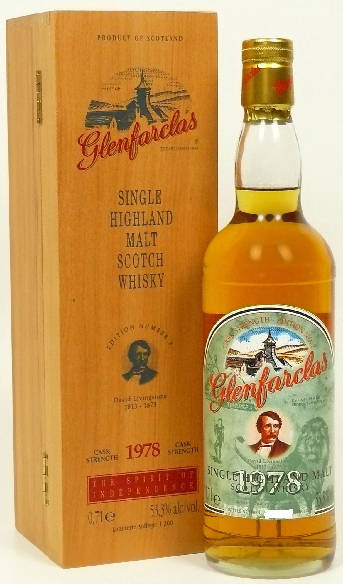 Glenfarclas Edition No. 3 David Livingstone