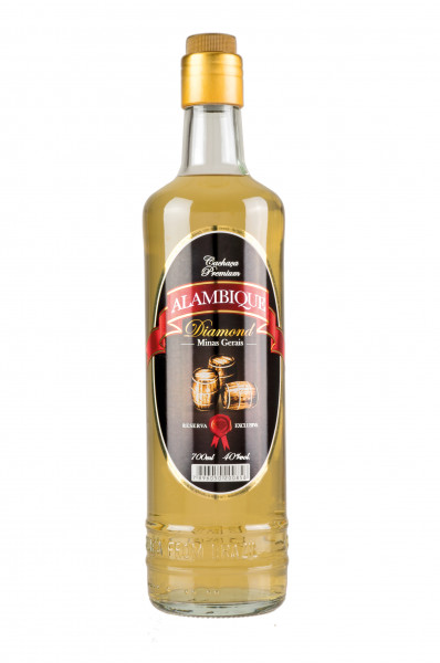 Alambique Cachaca Diamond - 0,7L 40% vol