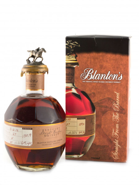 Blantons Straight from the Barrel, Bourbon Whiskey - 65% vol - (0,7L)