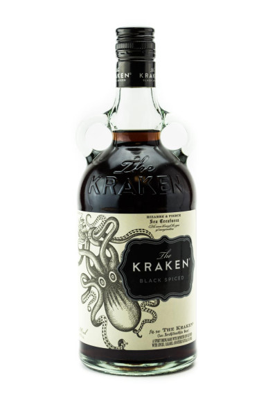 The Kraken Black Spiced - 0,7L 40% vol