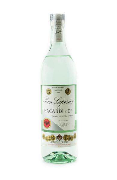 Bacardi Ron Superior De Bacardi y Cia - 0,7L 44,5% vol