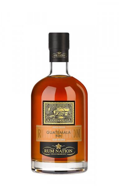 Rum Nation Guatemala Gran Reserva - 0,7L 40% vol