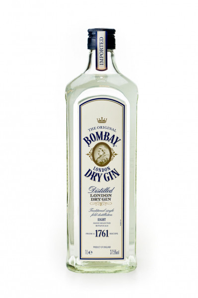 Bombay Original Dry Gin - 1 Liter 37,5% vol