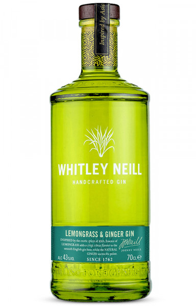 Whitley Neill Lemongrass & Ginger Gin - 0,7L 43% vol