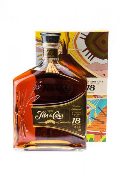 Flor de Cana Centenario 18 Jahre Old Legacy Edition I - 1 Liter 40% vol