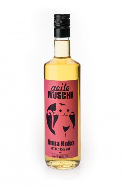 Geile Muschi Anna Koko Ananas-Kokos-Likör - 0,7L 15% vol