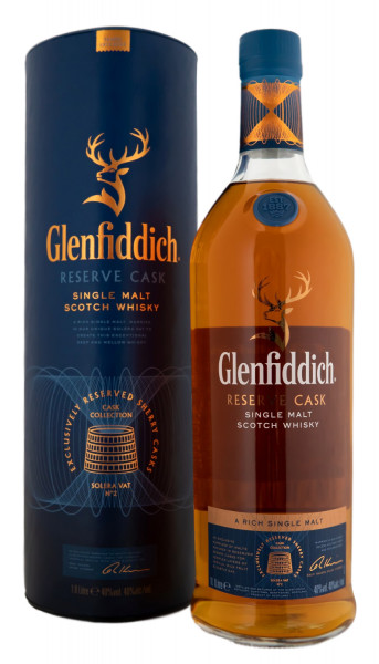 Glenfiddich Reserve Cask Highland Single Malt Scotch Whisky - 1 Liter 40% vol
