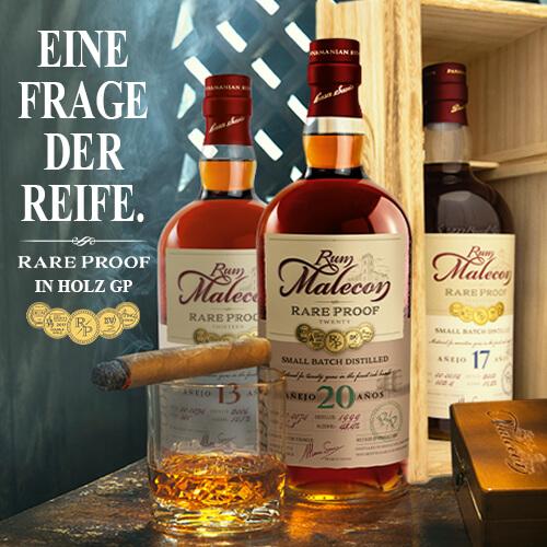 Rum Malecon Rare Proof 17 Jahre Rum