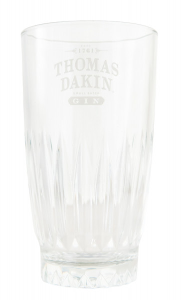 Thomas Dain Small Batch Gin Longdrinkglas