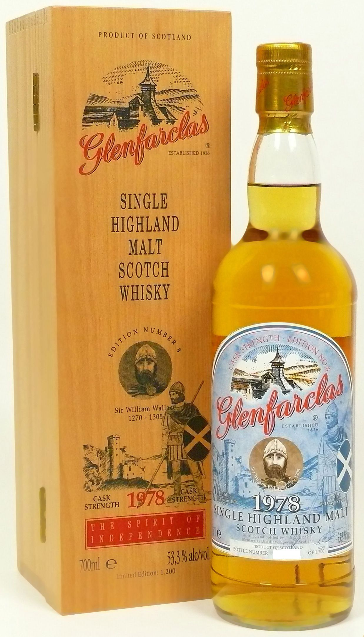 Glenfarclas Edition No. 8 Sir William Wallace