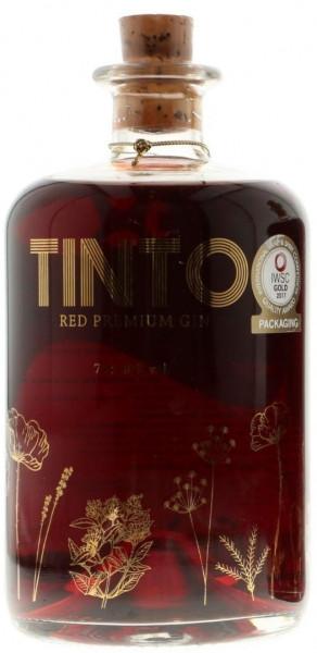 Tinto Red Premium Gin - 0,7L 40% vol