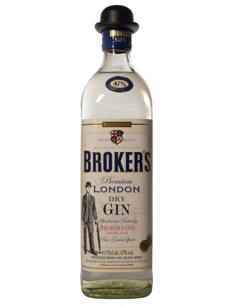 Brokers Gin 47 - 47% vol - (0,7L)