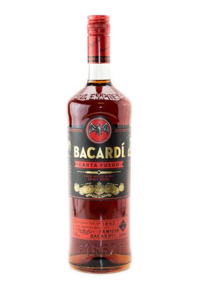 Bacardi Carta Fuego - 1 Liter 40% vol