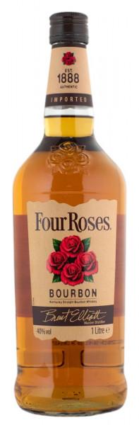 Four Roses Whiskey Kentucky Straight Bourbon - 1 Liter 40% vol