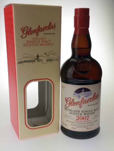 Glenfarclas 2007 Christmas Edition Single Malt Scotch Whisky - 0,7L 46% vol