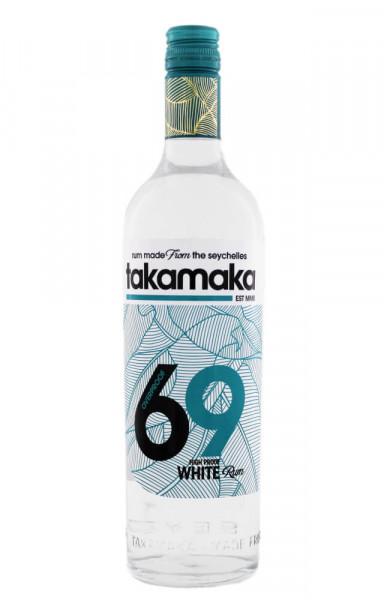 Takamaka Overproof White Rum - 0,7L 69% vol