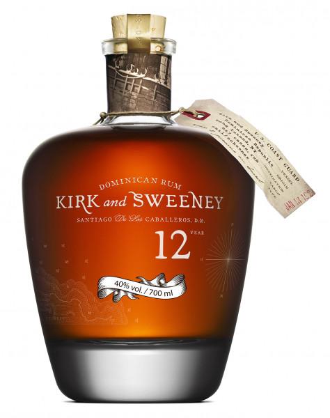 Kirk & Sweeney 12 Jahre Rum - 0,7L 40% vol