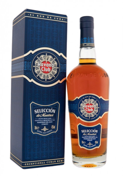 Havana Club Seleccion de Maestros Rum - 0,7L 45% vol