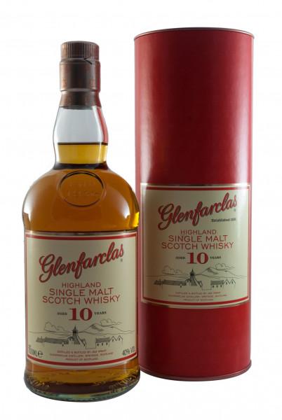 Glenfarclas 10 YO, Speyside Malt Scotch Whisky - 40% vol - (0,7L)