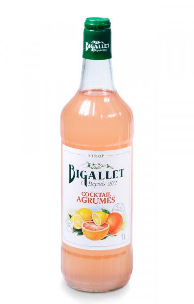 Bigallet Zitrusfrüchte Cocktail Sirup Agrumes - 1 Liter