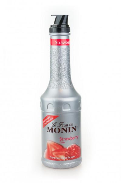 Monin Erdbeere Strawberry Fruchtpüree - 1 Liter