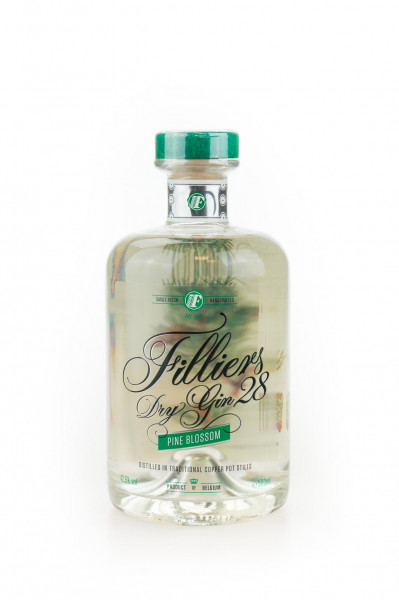 Filliers Dry Gin 28 Pine Blossom - 0,5L 42,6% vol
