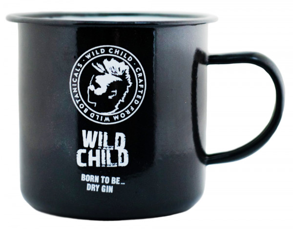 Wild Child Gin Vintage Metaltasse