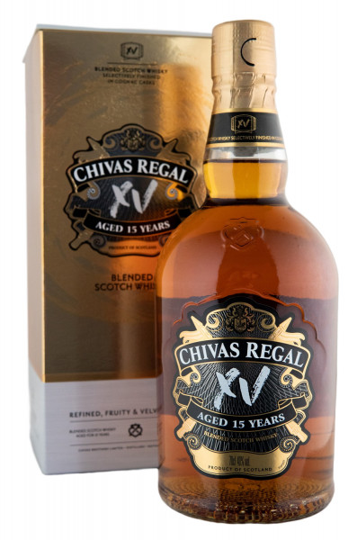 Chivas Regal XV 15 Jahre - 0,7L 40% vol