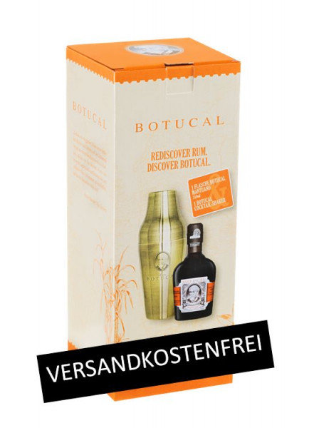 Botucal Mantuano mit Cocktail-Shaker - 0,35L 40% vol