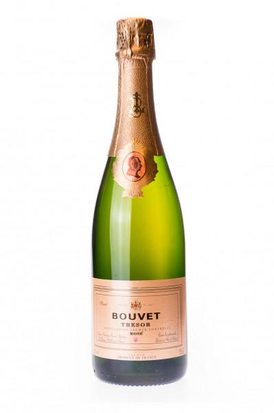 Bouvet Cremant Tresor Rose 100% Cabernet France Brut - 0,75L 12,5% vol