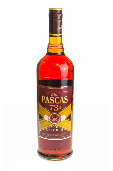 Old Pascas 73 Jamaica Dark Rum - 1 Liter 73% vol
