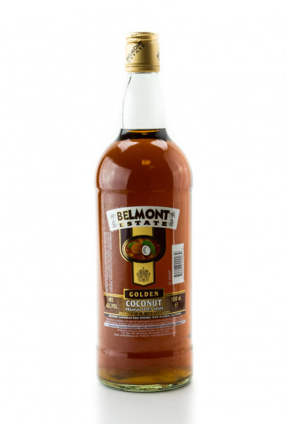 Belmont Estate Gold Coconut - 1 Liter 40% vol