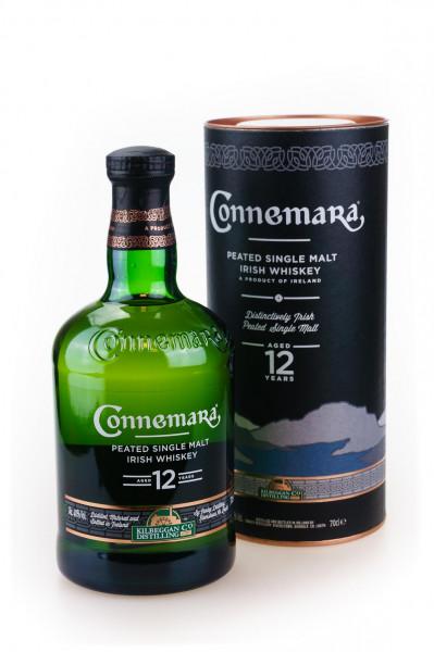 Connemara 12 Jahre Peated Single Malt Irish Whiskey - 0,7L 40% vol