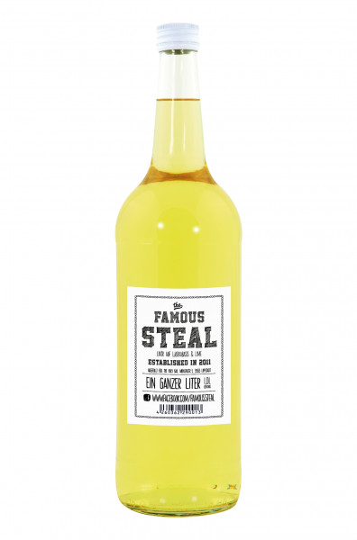 The Famous Steal Likör - 1 Liter 18% vol
