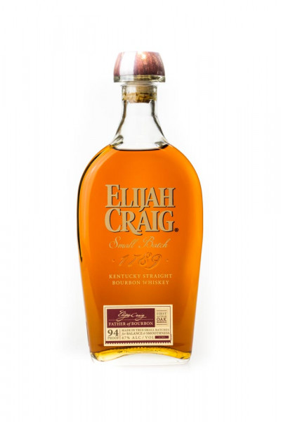 Elijah Craig Small Batch Bourbon Whiskey - 0,7L 47% vol