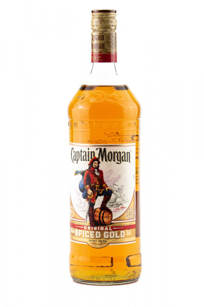 Captain Morgan Spiced Gold Spirituose - 1 Liter 35% vol