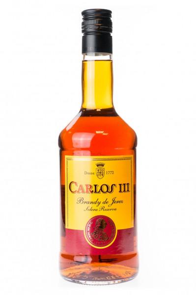 Carlos III Solera Gran Reserva Brandy de Jerez - 0,7L 36% vol