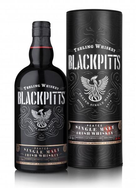 Teeling Blackpitts Irish Single Malt Whiskey - 0,7L 46% vol