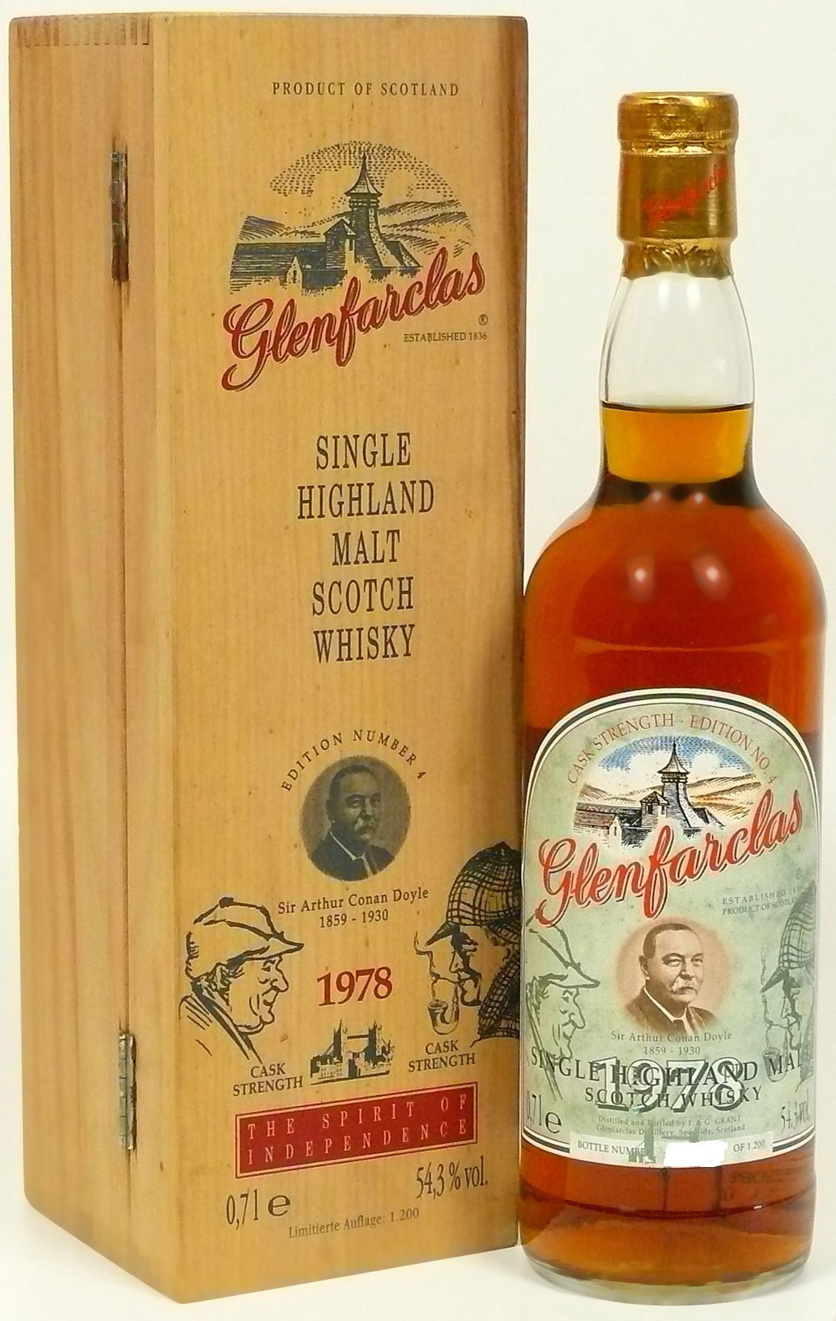 Glenfarclas Edition No. 4 Sir Arthur Conan Doyle