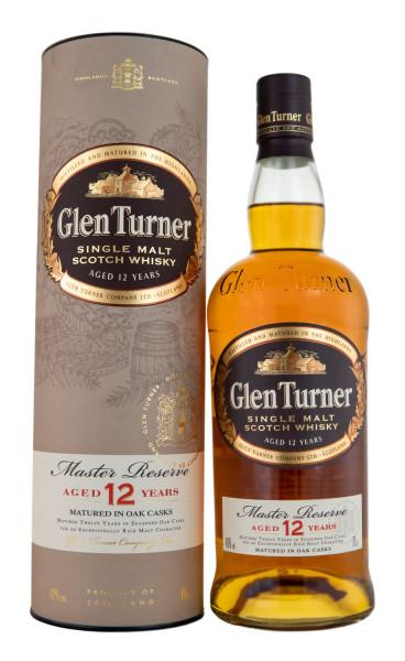 Glen Turner 12 Jahre Single Malt Scotch - 0,7L 40% vol