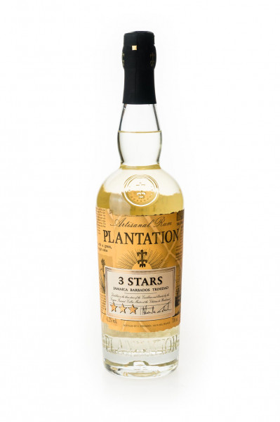 Plantation 3 Stars White Rum - 0,7L 41,2% vol