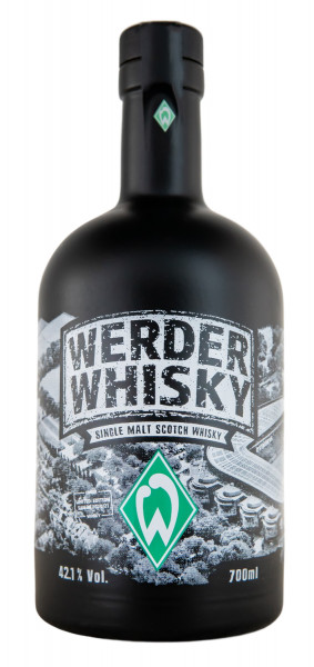 Werder Whisky Limited Edition Saison 2020/21 Single Malt Scotch Whisky - 0,7L 42,1% vol