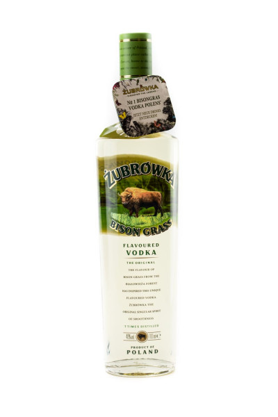 Zubrowka The Original Bison Grass Vodka - 0,7L 37,5% vol